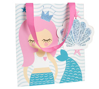 gift bag - large - mermaid