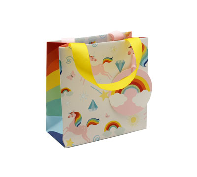 gift bag - small - always be a unicorn