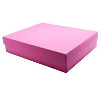 gift box - A4 - pink lavender (textured)