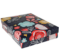 gift box - book (A5) - full bloom