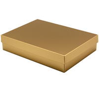 gift box - book (A5) - goldrush