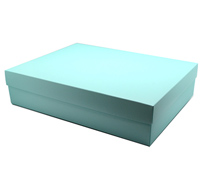 gift box - gown - mint (textured)