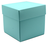 gift box - mug - mint (textured)