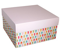 gift box - rice bowl - flowers