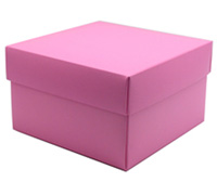gift box - rice bowl - pink lavender (textured)