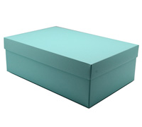 gift box - shoe - mint (textured)