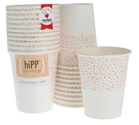cups 250ml / 9oz - sprinkles