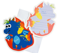 invitations - little dragon