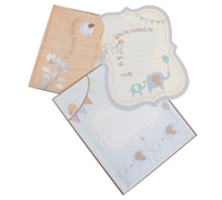 invitations - special delivery - little boy