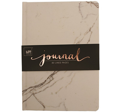 journal - A5 - marble