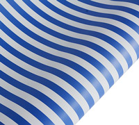 roll wrap - 5m blue stripe - pack
