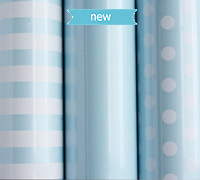 roll wrap - 5m baby essentials blue collection