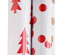 roll wrap - 5m nordic red collection