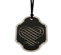 gift tag - luxe-black